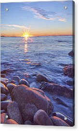 Mainly Water II Acrylic Print by Jon Glaser