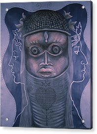 Maitresses Acrylic Print by Barbara Nesin