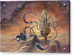 Majestic Accord Acrylic Print by Jeff Brimley