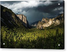 Majestic Yosemite National Park Acrylic Print by Larry Marshall