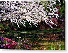 Majesty Garden.... Acrylic Print by Tanya Tanski
