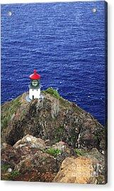Makapuu Lighthouse II Acrylic Print by Brandon Tabiolo - Printscapes
