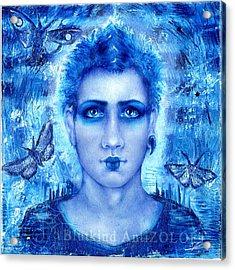 Male Beauty Acrylic Print by Blutkind Antizoloft