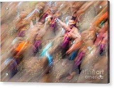 Man Overboard Acrylic Print by Az Jackson