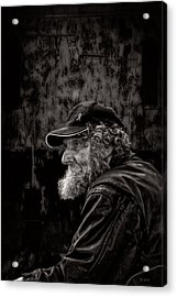 Man With A Beard Acrylic Print by Bob Orsillo
