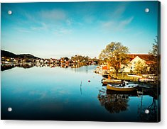 Mandal In The Morning Acrylic Print by Mirra Photography