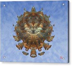 Mandalabrot Acrylic Print by David Jenkins