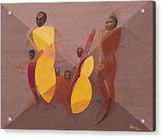 Mango Jazz Acrylic Print by Kaaria Mucherera