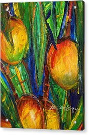 Mango Tree Acrylic Print by Julie Kerns Schaper - Printscapes