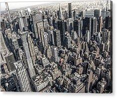 Manhattan Acrylic Print by Nicklas Gustafsson