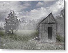 Manor Road Farm Acrylic Print by Tom Romeo