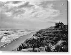 Mantoloking Beach - Jersey Shore Acrylic Print by Angie Tirado
