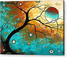 Many Moons Ago By Madart Acrylic Print by Megan Duncanson