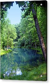 Maramec Springs 2 Acrylic Print by Marty Koch