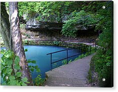 Maramec Springs 3 Acrylic Print by Marty Koch