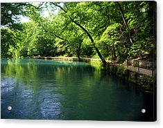 Maramec Springs 4 Acrylic Print by Marty Koch