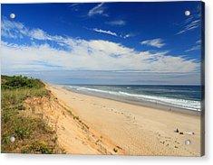 Marconi Beach Cape Cod National Seashore Acrylic Print by John Burk