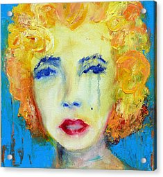 Marilyn Acrylic Print by Jacquie Gouveia