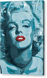 Marilyn Monroe Acrylic Print by Jeff Nichol