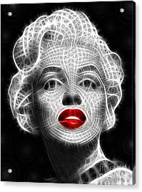 Marilyn Monroe Acrylic Print by Pamela Johnson