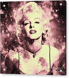 Marilyn Monroe   Vintage Acrylic Print by Prar Kulasekara