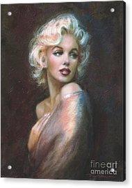 Marilyn Ww  Acrylic Print by Theo Danella