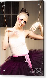 Marionette Doll Acrylic Print by Jorgo Photography - Wall Art Gallery