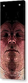 Marked Man Acrylic Print by Ron Bissett