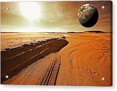 Mars Acrylic Print by Dapixara Art