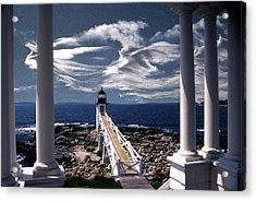 Marshall Point Lighthouse Maine Acrylic Print by Skip Willits