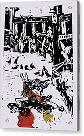 Martyr 1 Acrylic Print by Adam Kissel