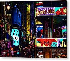 Marvelous Acrylic Print by Jeff Breiman
