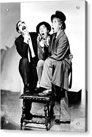 Marx Brothers, The Groucho, Chico Acrylic Print by Everett