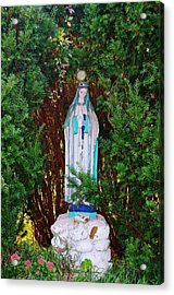 Mary And Orb Acrylic Print by Don Youngclaus