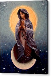 Mary Queen Of Heaven Acrylic Print by Timothy Jones