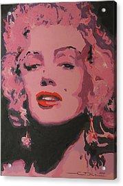 Marylin Monroe Acrylic Print by Eric Dee