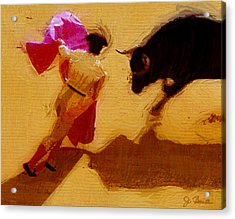 Matador Acrylic Print by Joe Bonita