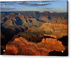 Mather Point - Grand Canyon Acrylic Print by Stephen  Vecchiotti