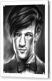 Matt Smith Acrylic Print by Greg Joens