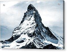 Matterhorn Acrylic Print by Design Turnpike