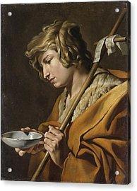 John The Baptist Acrylic Print by Celestial Images