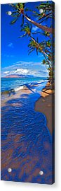 Maui Palms Acrylic Print by James Roemmling