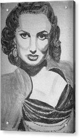 Maureen O'hera Acrylic Print by Scarlett Royal