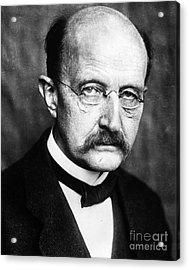 Max Planck  Acrylic Print by Granger