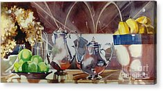 May I Have This Dance Acrylic Print by Elizabeth Carr