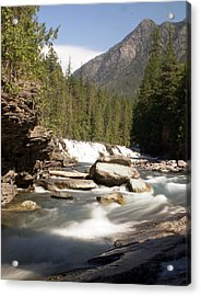 Mcdonald Creek 2 Acrylic Print by Marty Koch