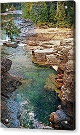 Mcdonald Creek 6 Acrylic Print by Marty Koch