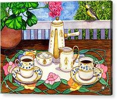 Meadowlark Acrylic Print by Catherine G McElroy