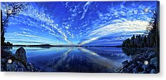 Meddybemps Blues Acrylic Print by ABeautifulSky Photography