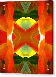 Meditation Acrylic Print by Amy Vangsgard